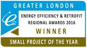 Greater London Energy Efficiency and Retrofit Awards Project of the Year Winner
