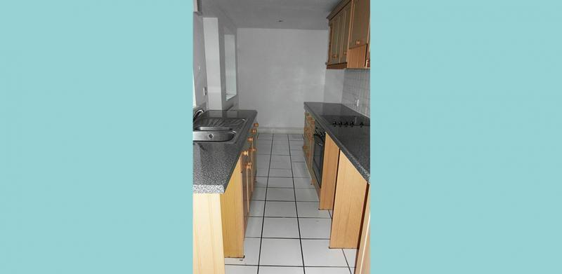 The kitchen prior to refurbishment