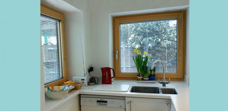 High performance triple-glazed windows
