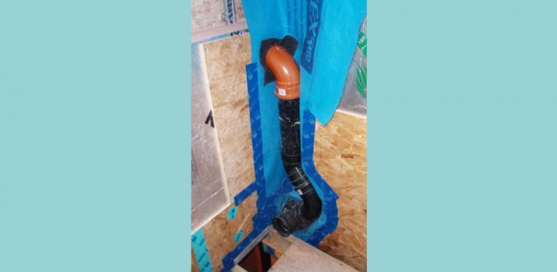 Careful duct sealing to avoid air leakage