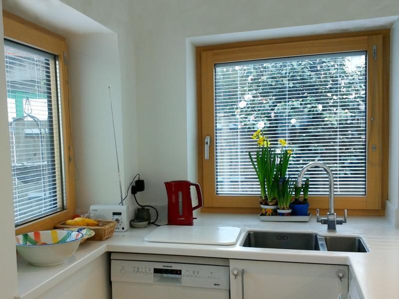 High performance triple-glazed windows