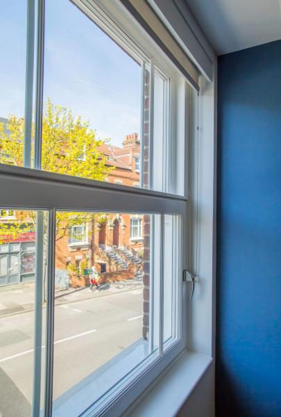Tilt and turn triple-glazed window by Enhabit