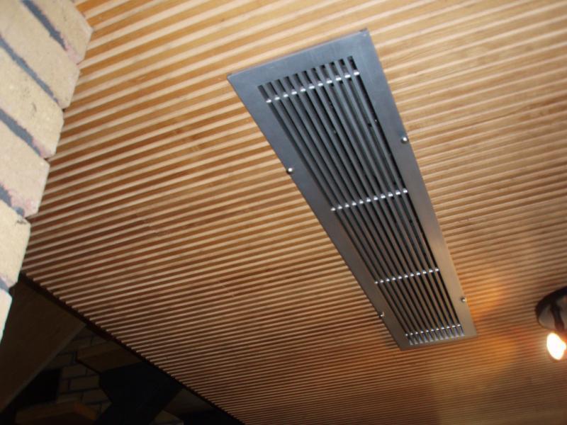 Ventilation provides fresh, warm, clean air to the airtight property