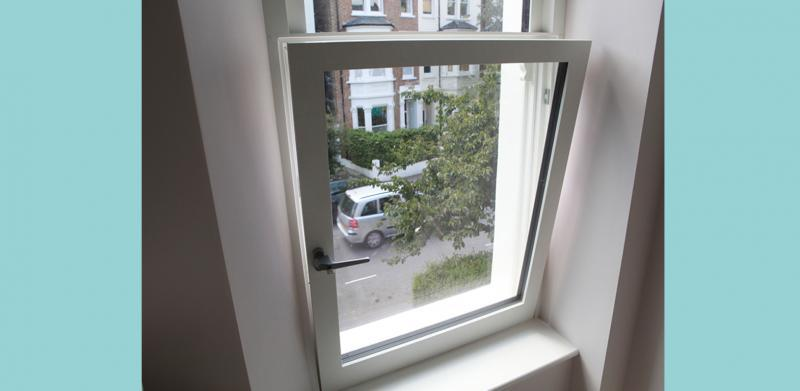 Tilt and turn high performance triple glazed windows