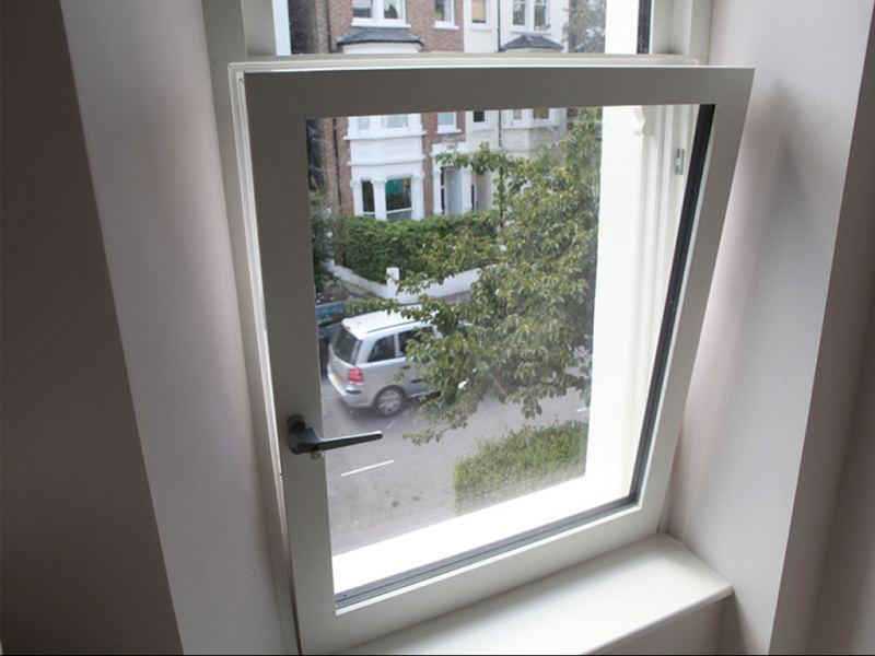 Tilt and turn high performance triple glazed windows