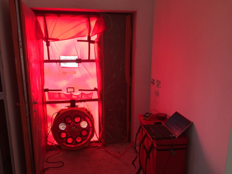 Enhabit Blower Door Airtightness Testing kit 2017