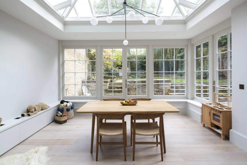 Victorian Townhouse renovated to low energy standards Enhabit Orangery