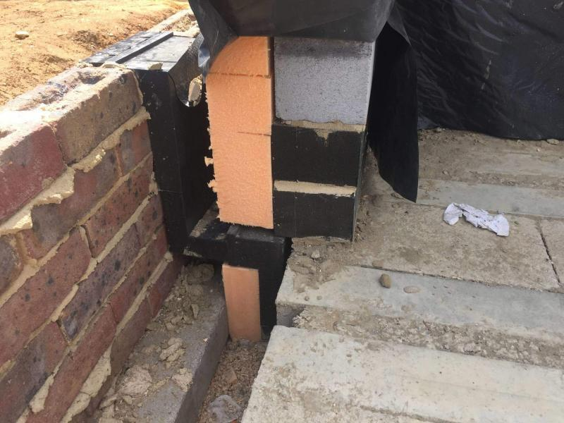 Wall Insulation below DPC line Enhabit