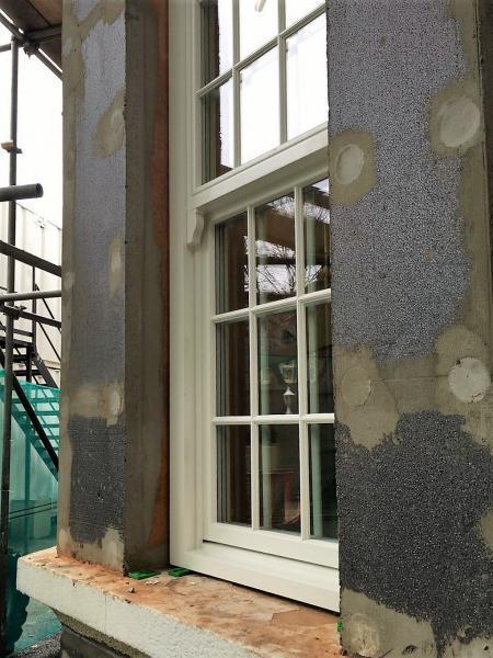 Installation of triple glazed windows