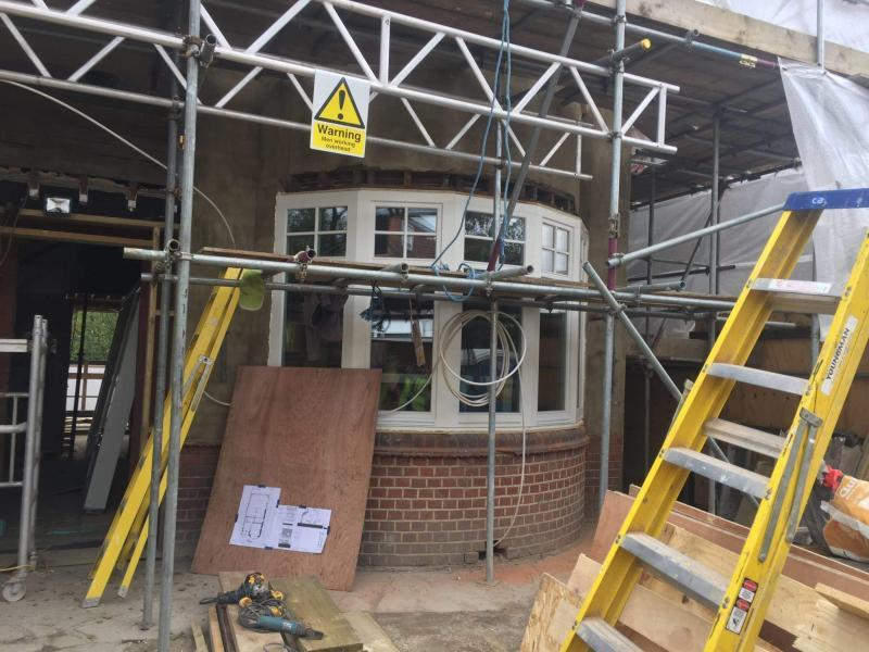North London low energy retrofit of family home achieves airtightness of 0.6ach @50Pa - Image 3