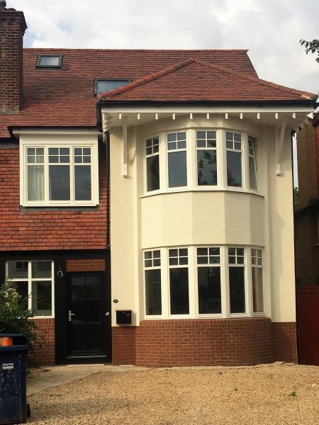 North London low energy retrofit of family home achieves airtightness of 0.6ach @50Pa - Image 1