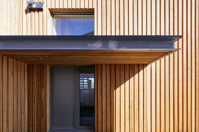 Ringmer Passivhaus external detail