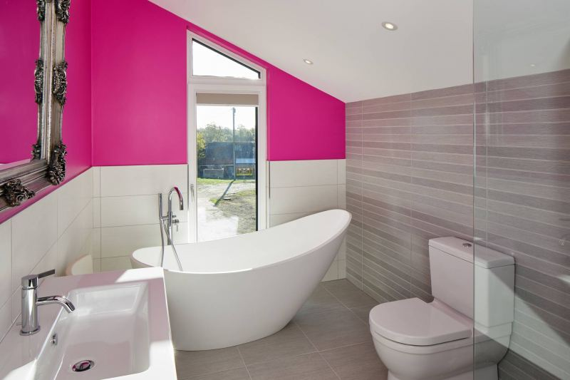 Ringmer Passivhaus bathroom