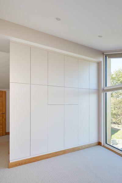 Ringmer Passivhaus fitted wardrobes