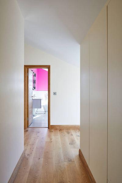 Ringmer Passivhaus hallway