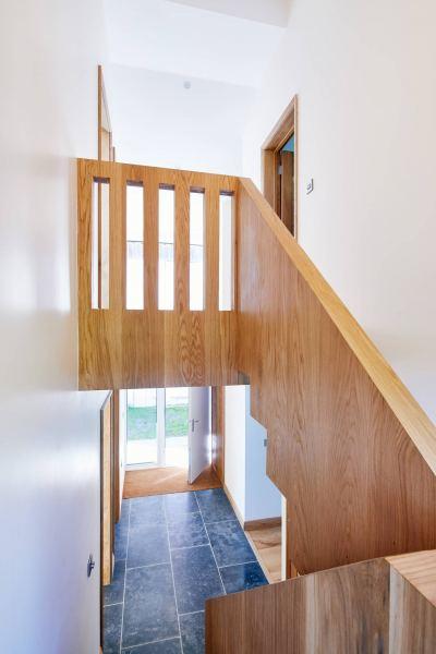 Ringmer Passivhaus staircase detail