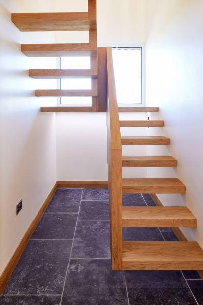 Ringmer Passivhaus staircase