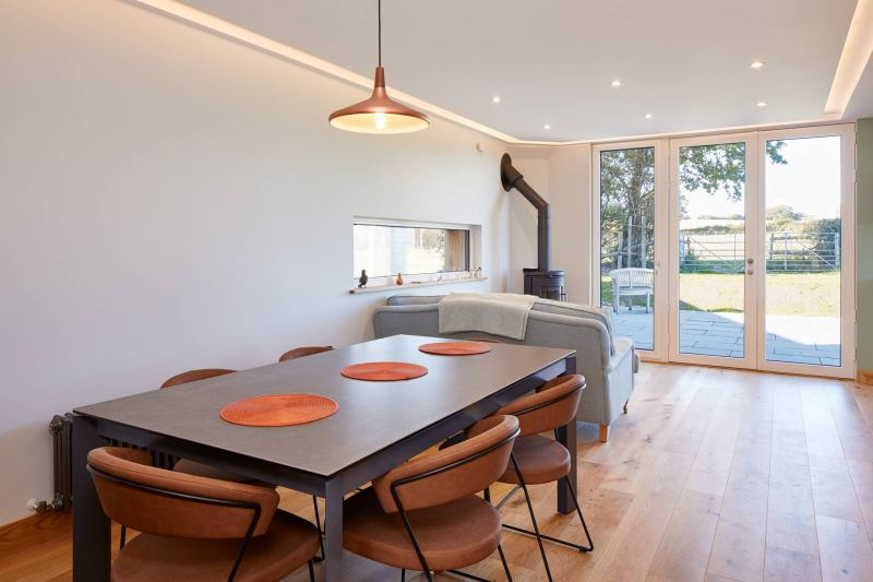 Ringmer Passivhaus living area