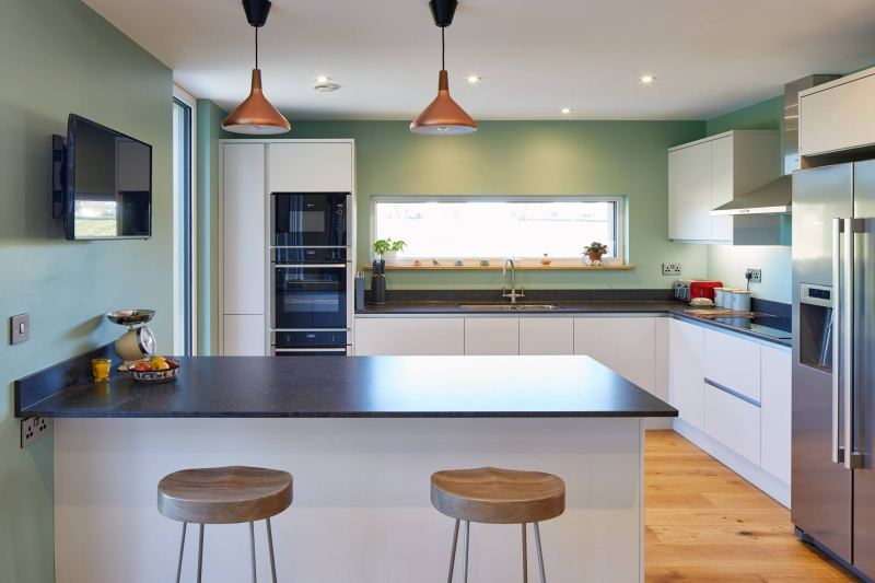 Ringmer Passivhaus kitchen